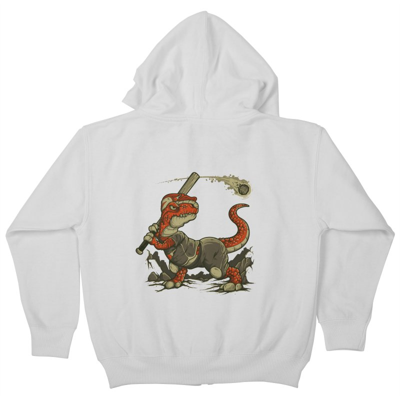 Fight The Asteroid Kids Zip-Up Hoody by letterq's Artist Shop
