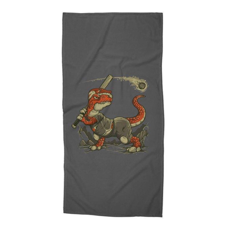 Fight The Asteroid Accessories Beach Towel by letterq's Artist Shop