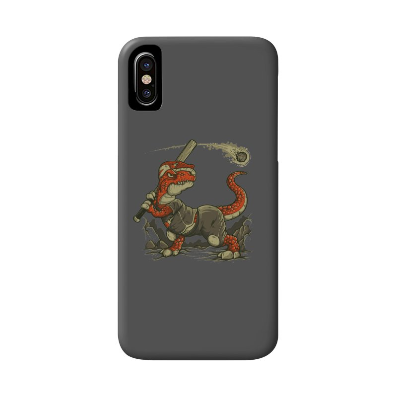 Fight The Asteroid Accessories Phone Case by letterq's Artist Shop