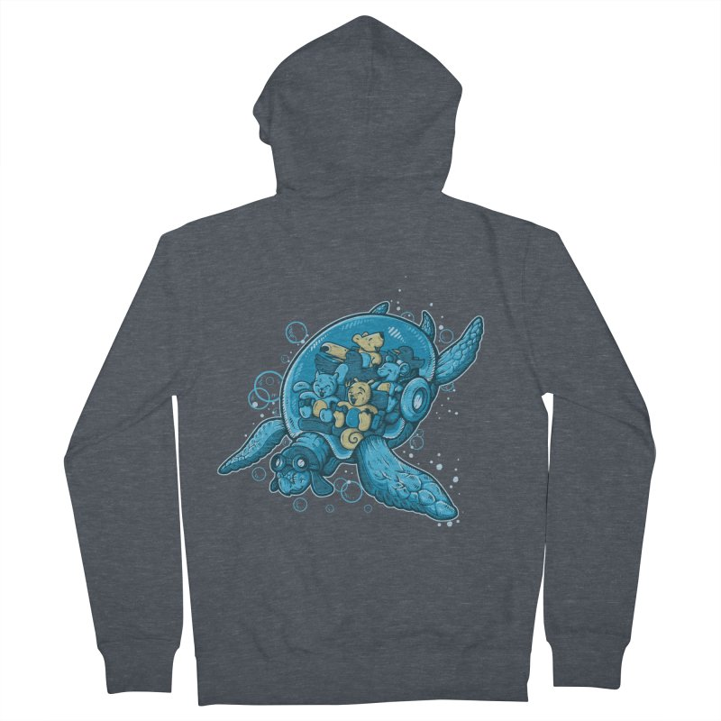 Flying Deep Women's Zip-Up Hoody by letterq's Artist Shop