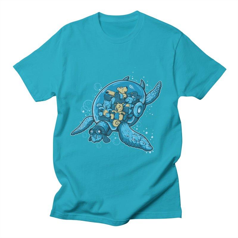 Flying Deep Women's Unisex T-Shirt by letterq's Artist Shop