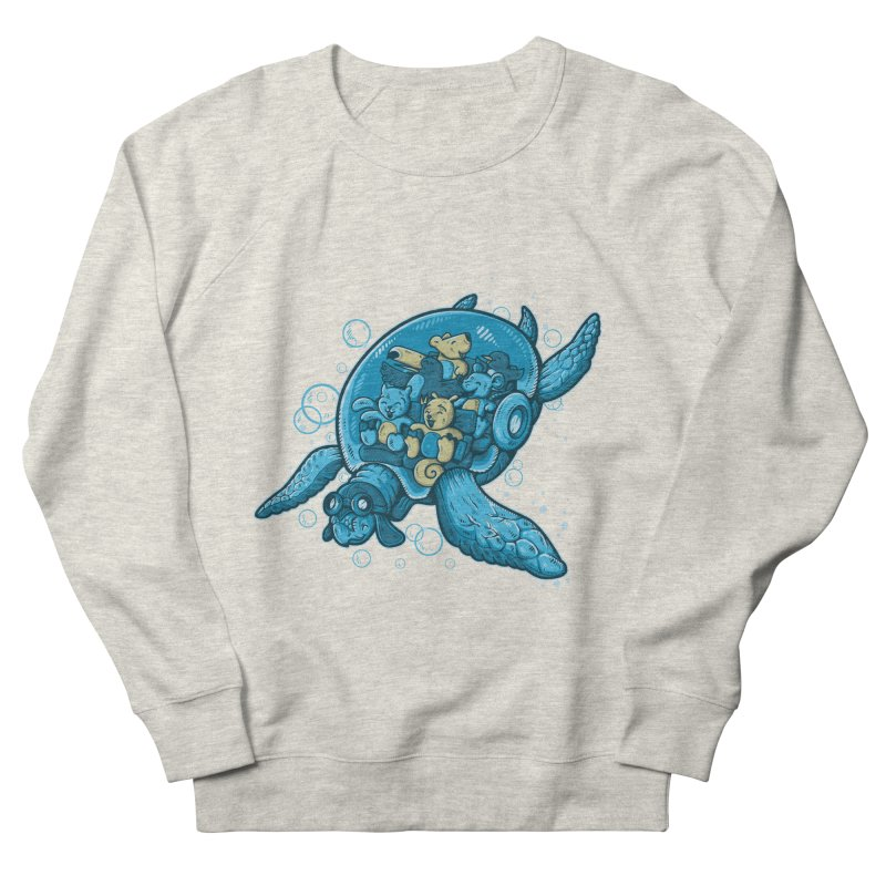 Flying Deep Men's Sweatshirt by letterq's Artist Shop