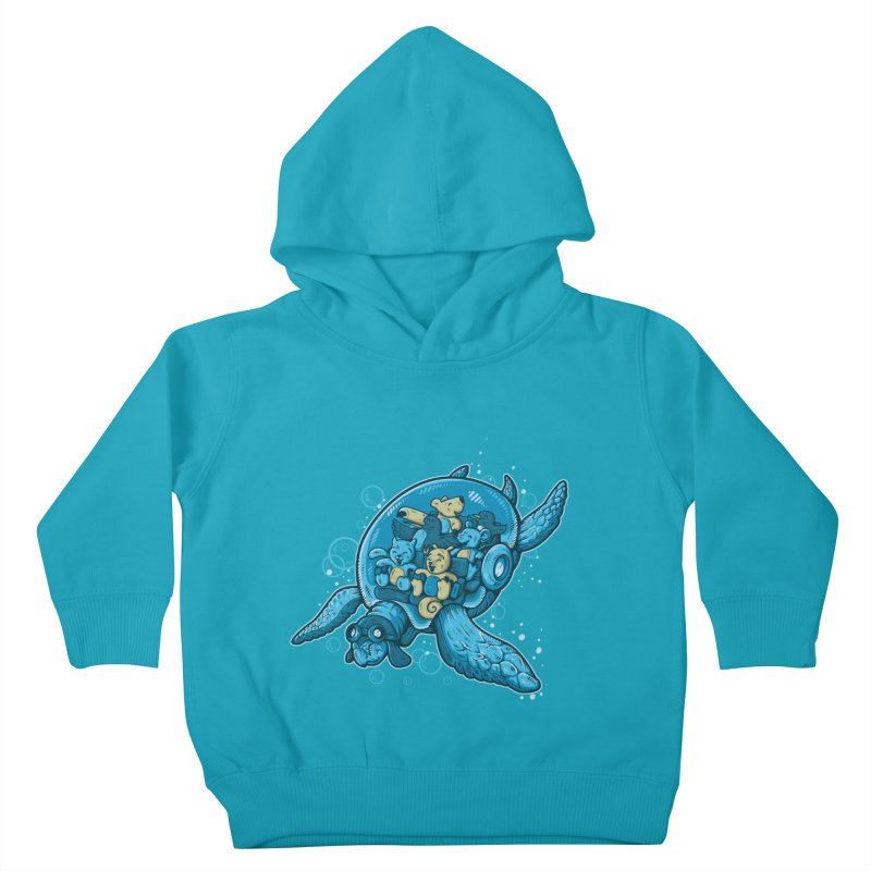 Flying Deep Kids Toddler Pullover Hoody by letterq's Artist Shop
