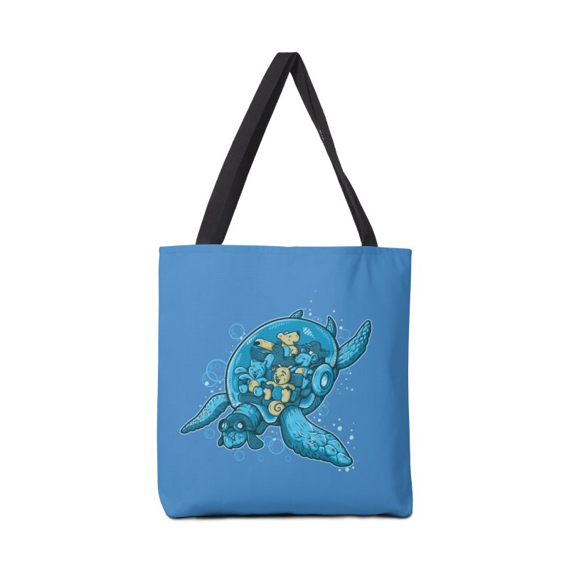 Flying Deep Accessories Bag by letterq's Artist Shop