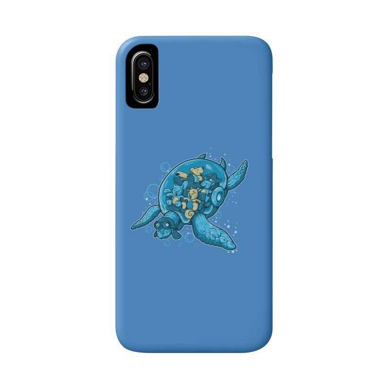 Flying Deep Accessories Phone Case by letterq's Artist Shop