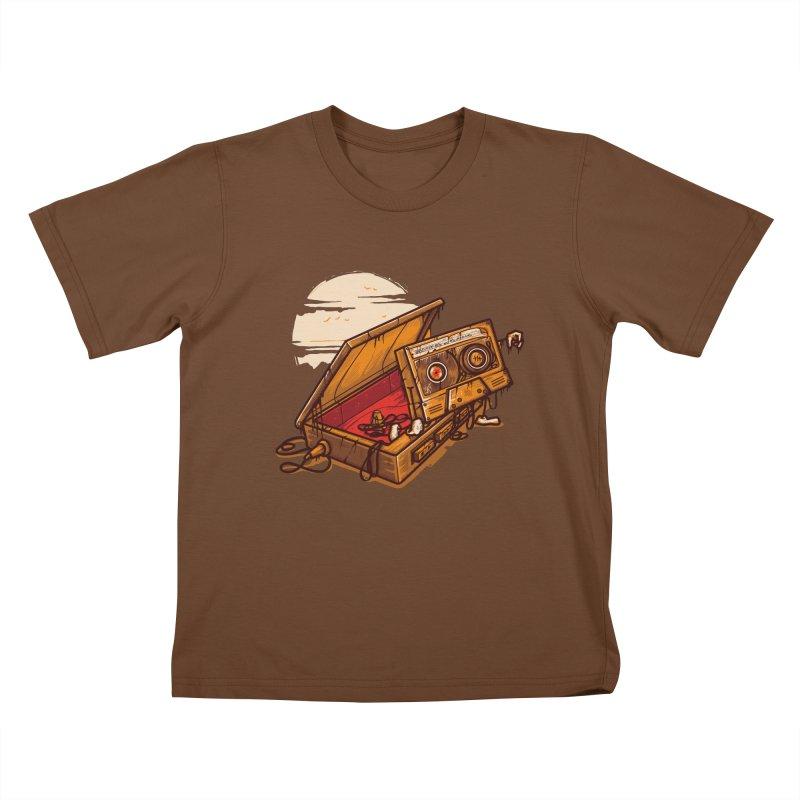 Dead Man Walkman Kids Toddler T-Shirt by letterq's Artist Shop