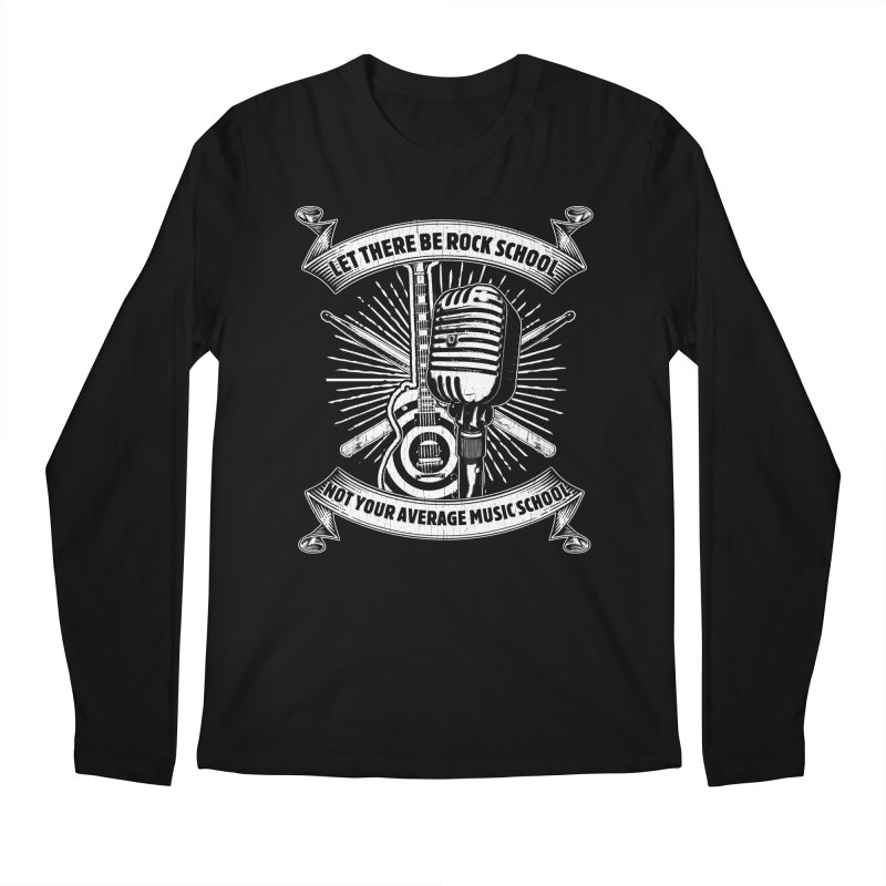 Microphone tee Men's Regular Longsleeve T-Shirt by LetThereBeRock's Artist Shop