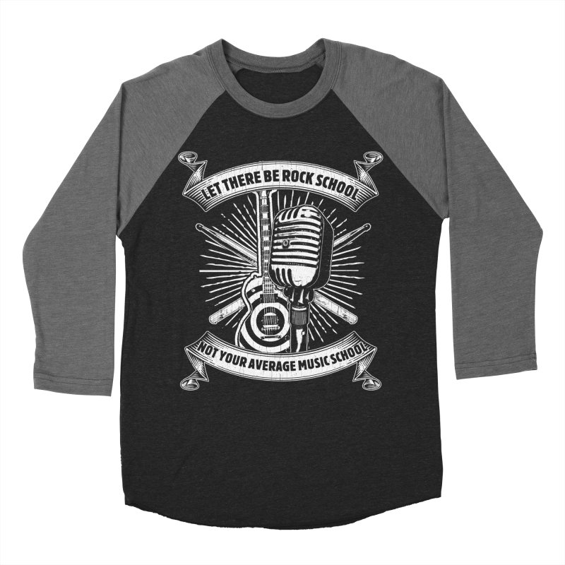 Microphone tee Men's Baseball Triblend Longsleeve T-Shirt by LetThereBeRock's Artist Shop