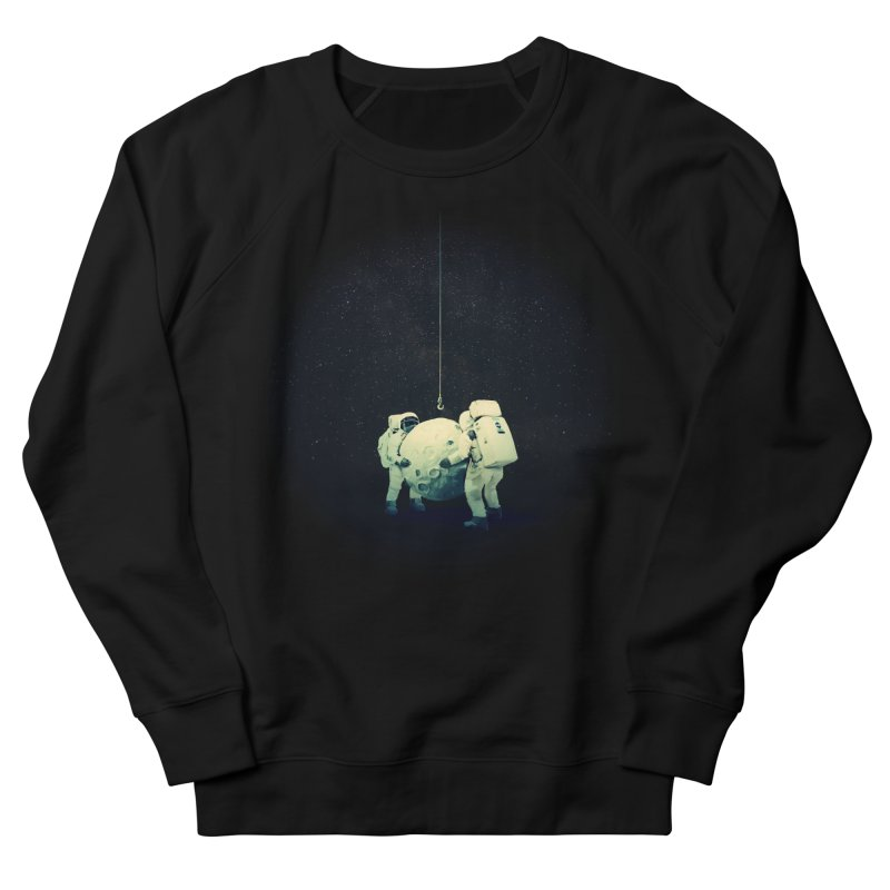 Hanging the moon Men's Sweatshirt by lev's Artist Shop