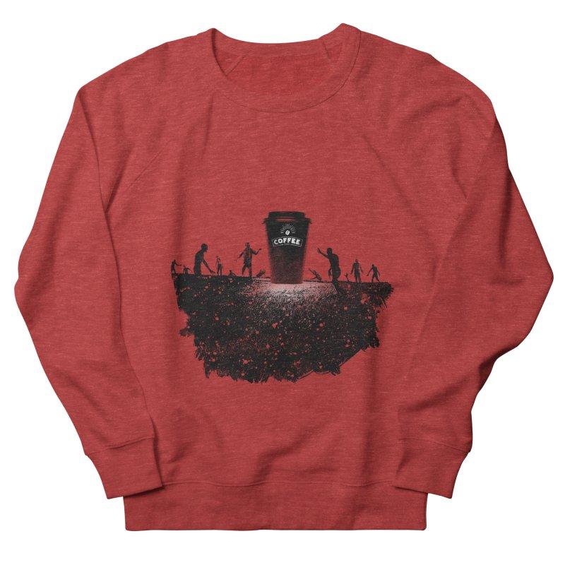 Zombie need coffee  Women's Sweatshirt by lev's Artist Shop