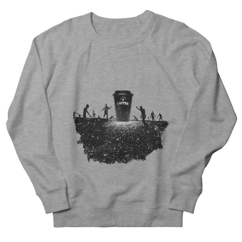 Zombie need coffee  Men's Sweatshirt by lev's Artist Shop
