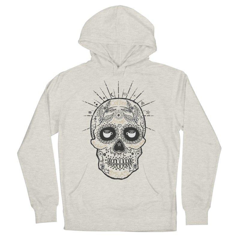 Coffee brings me back from the dead Women's Pullover Hoody by lev's Artist Shop