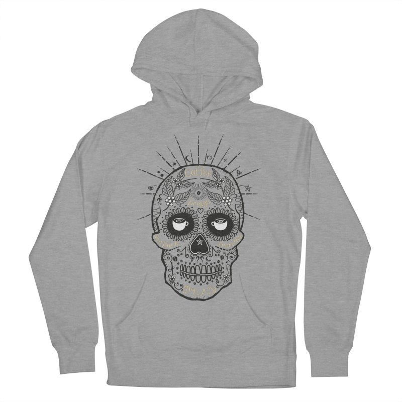Coffee brings me back from the dead Men's Pullover Hoody by lev's Artist Shop