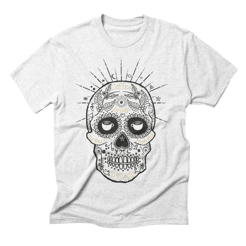 Coffee brings me back from the dead Men's Triblend T-shirt by lev's Artist Shop