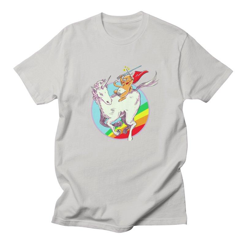 Epic Cat Attack! Men's T-Shirt by levi's Artist Shop
