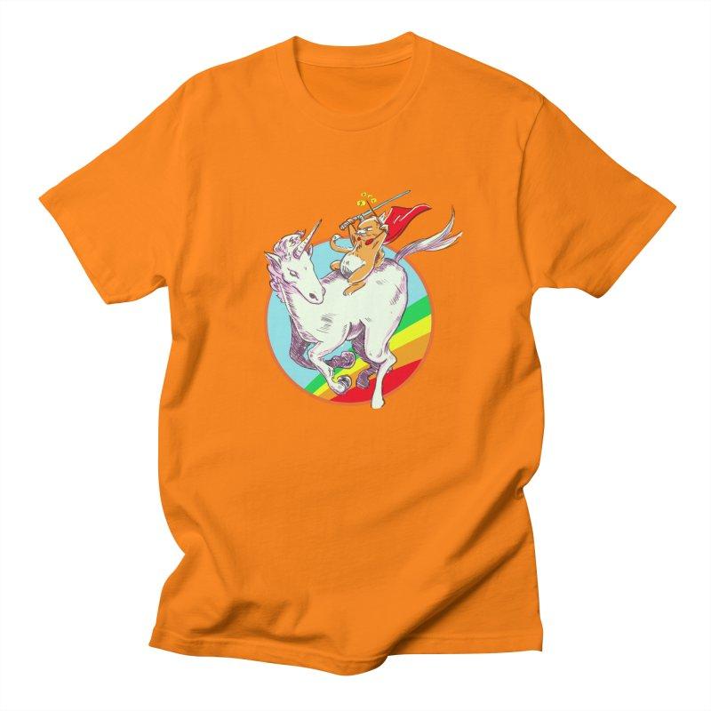 Epic Cat Attack! Men's Regular T-Shirt by levi's Artist Shop