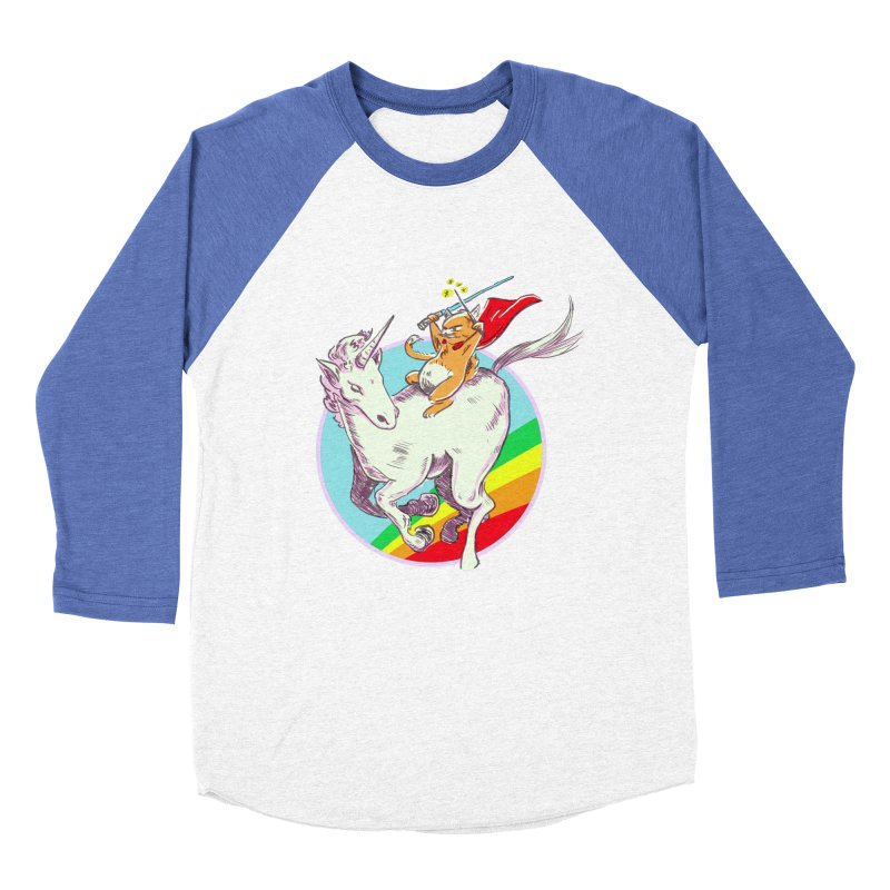 Epic Cat Attack! Women's Baseball Triblend T-Shirt by levi's Artist Shop