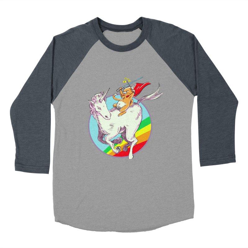 Epic Cat Attack! Men's Baseball Triblend Longsleeve T-Shirt by levi's Artist Shop