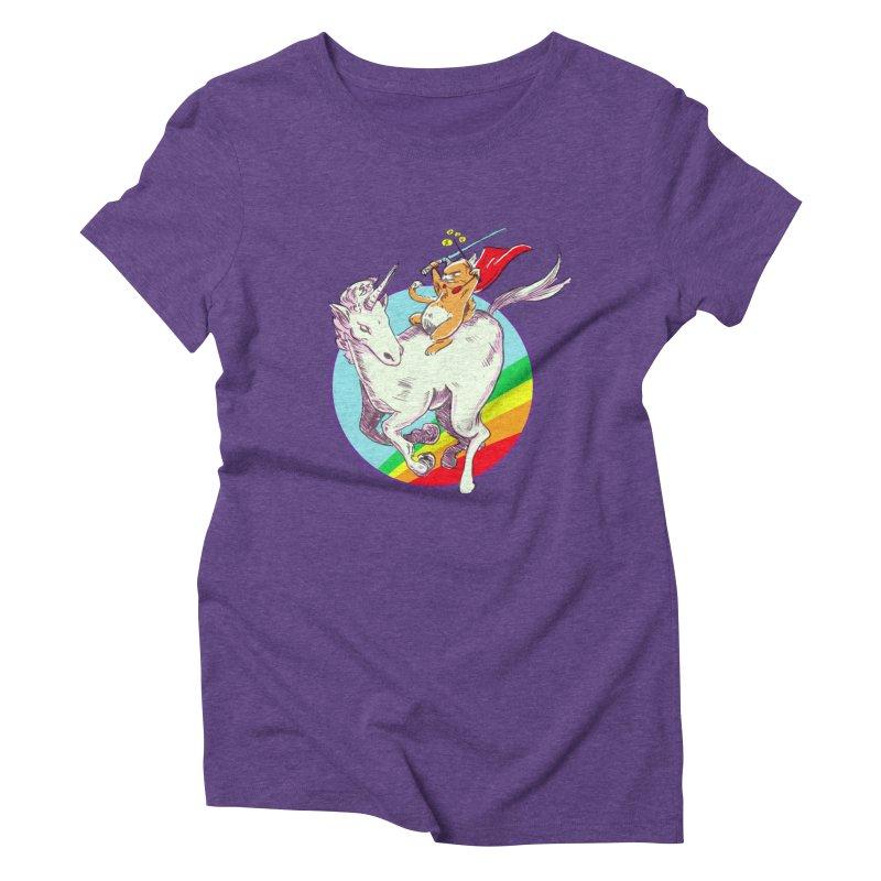 Epic Cat Attack! Women's Triblend T-shirt by levi's Artist Shop