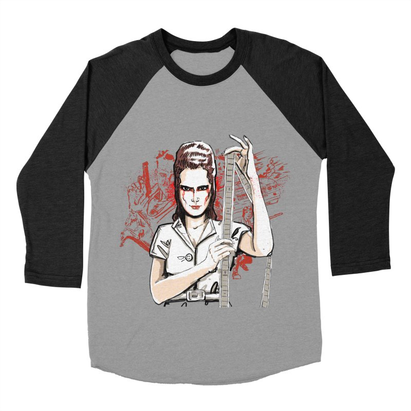 Mad Time at the Movies Women's Baseball Triblend T-Shirt by levi's Artist Shop