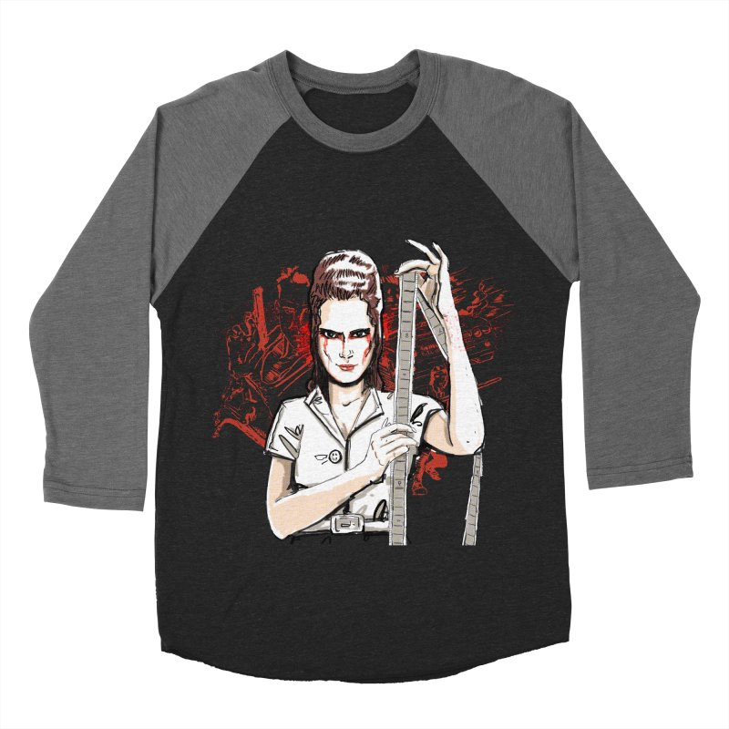 Mad Time at the Movies Men's Baseball Triblend T-Shirt by levi's Artist Shop