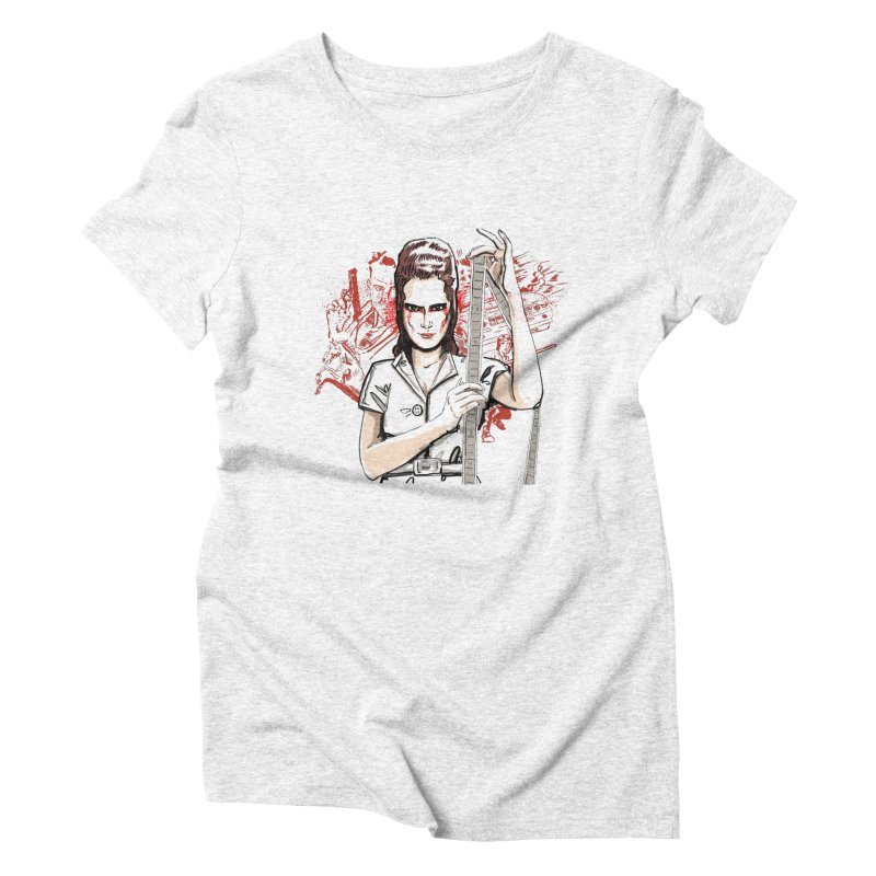 Mad Time at the Movies Women's Triblend T-shirt by levi's Artist Shop