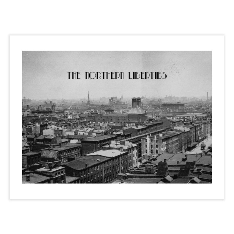 The Northern Liberties (1928) Home Fine Art Print by Slipwear: Boghouse Fashion