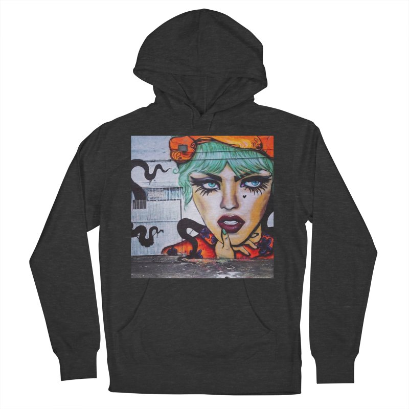 LexiBellaWynwood2014 in Men's French Terry Pullover Hoody Smoke by lexibella's Artist Shop