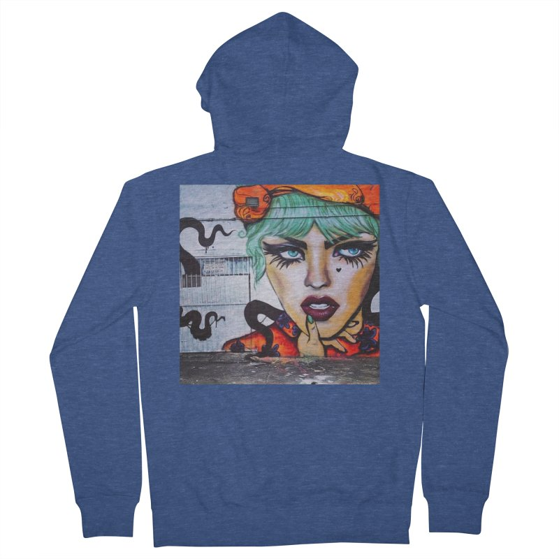 LexiBellaWynwood2014 Men's French Terry Zip-Up Hoody by lexibella's Artist Shop