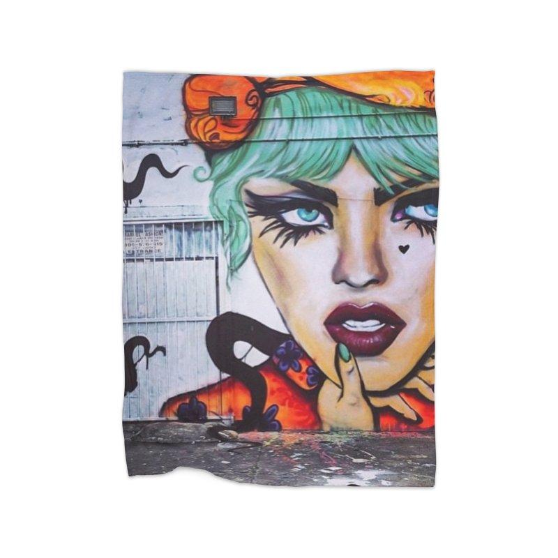 LexiBellaWynwood2014 Home Fleece Blanket Blanket by lexibella's Artist Shop