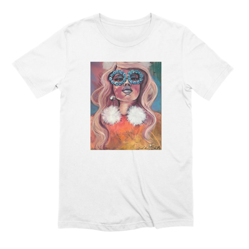Pink Lady Men's Extra Soft T-Shirt by lexibella's Artist Shop