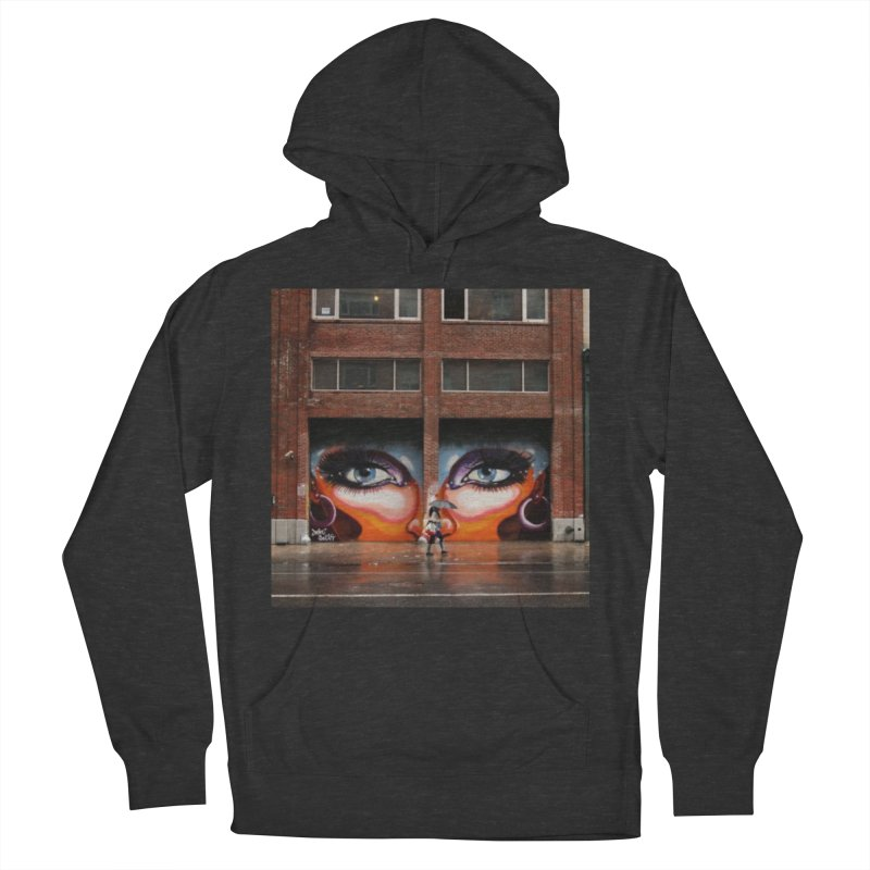 Eyes in Chelsea Women's French Terry Pullover Hoody by lexibella's Artist Shop