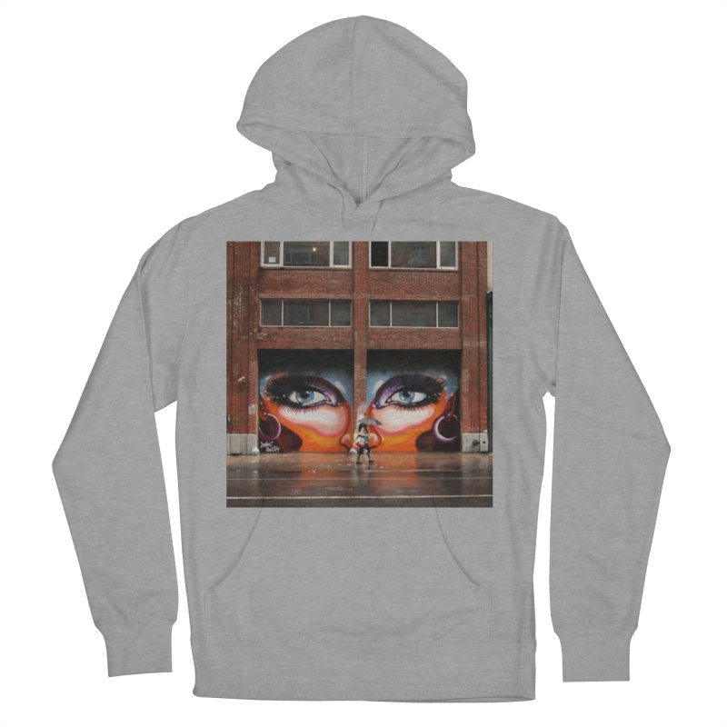 Eyes in Chelsea Men's French Terry Pullover Hoody by lexibella's Artist Shop
