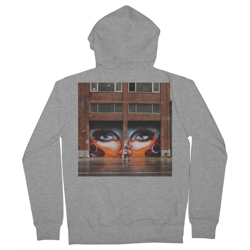 Eyes in Chelsea Men's French Terry Zip-Up Hoody by lexibella's Artist Shop