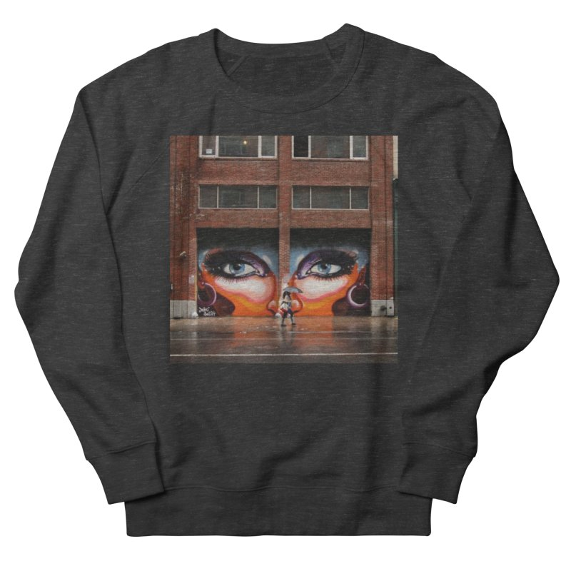Eyes in Chelsea Men's French Terry Sweatshirt by lexibella's Artist Shop