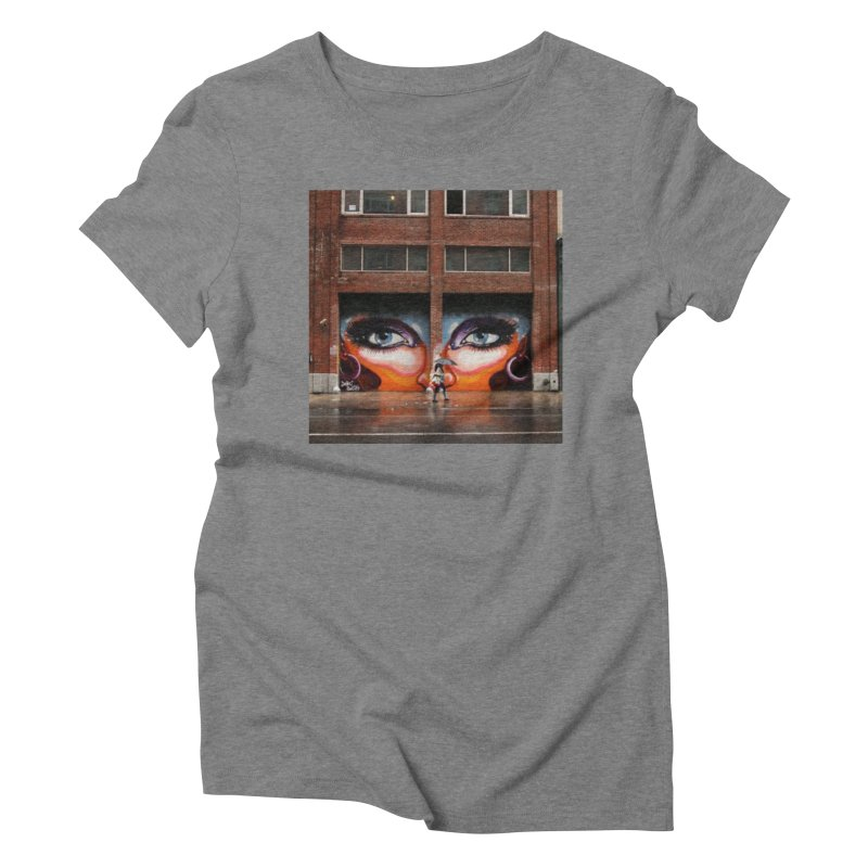 Eyes in Chelsea Women's Triblend T-Shirt by lexibella's Artist Shop