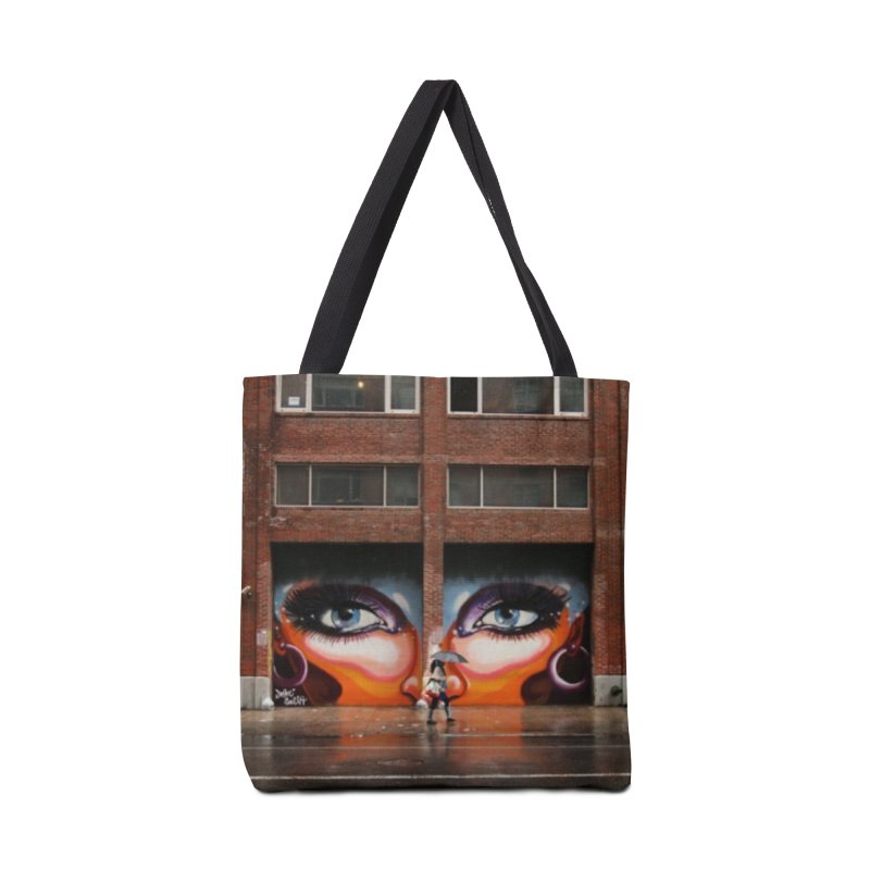 Eyes in Chelsea Accessories Tote Bag Bag by lexibella's Artist Shop