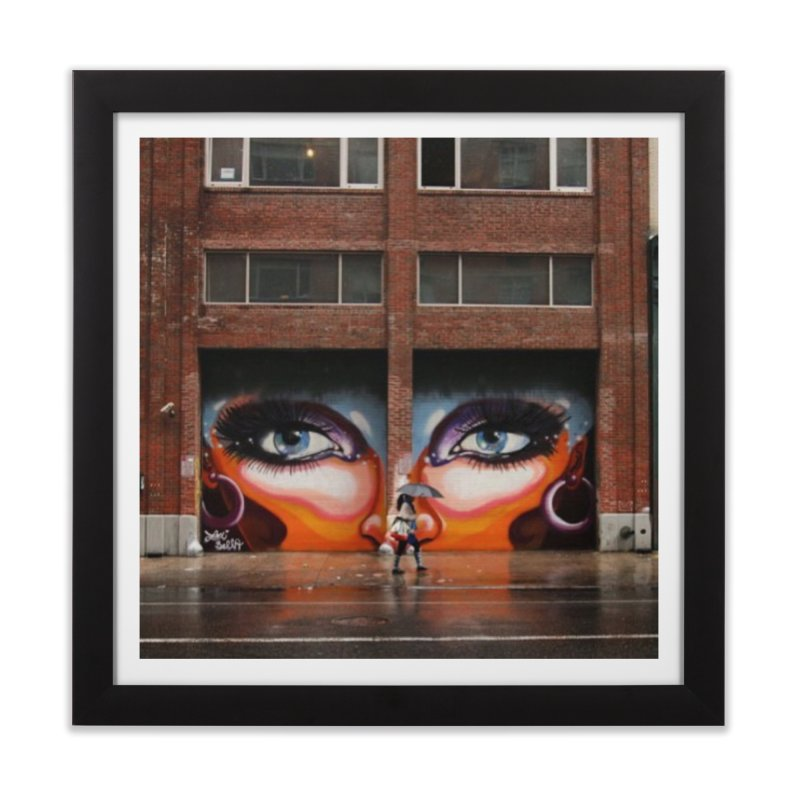 Eyes in Chelsea Home Framed Fine Art Print by lexibella's Artist Shop