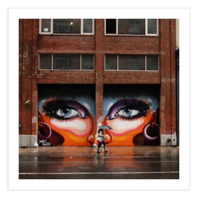 Eyes in Chelsea Home Fine Art Print by lexibella's Artist Shop