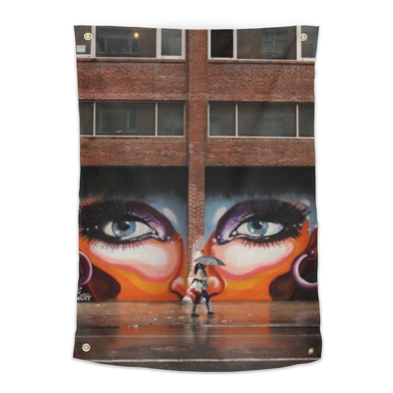 Eyes in Chelsea Home Tapestry by lexibella's Artist Shop