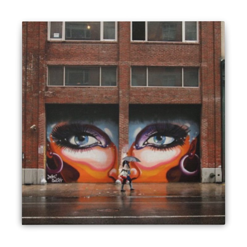 Eyes in Chelsea Home Stretched Canvas by lexibella's Artist Shop