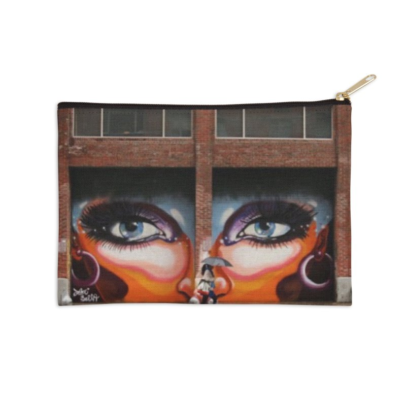 Eyes in Chelsea Accessories Zip Pouch by lexibella's Artist Shop
