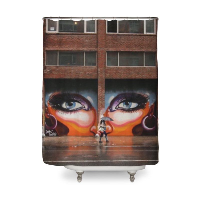 Eyes in Chelsea Home Shower Curtain by lexibella's Artist Shop