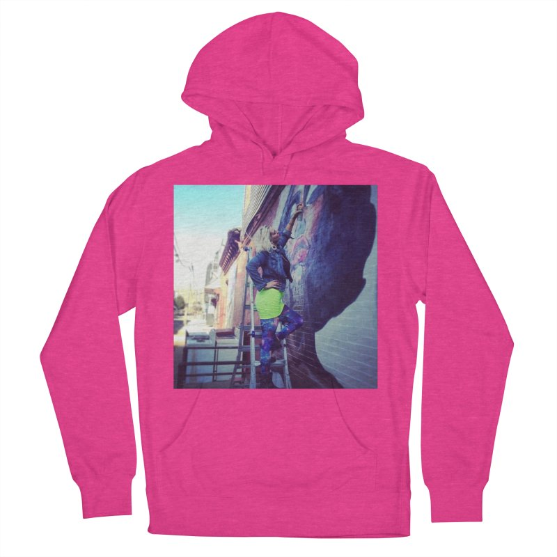 Lexi Bella on Dodworth Women's French Terry Pullover Hoody by lexibella's Artist Shop