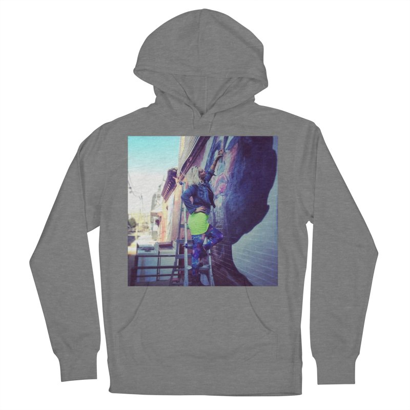 Lexi Bella on Dodworth Men's French Terry Pullover Hoody by lexibella's Artist Shop