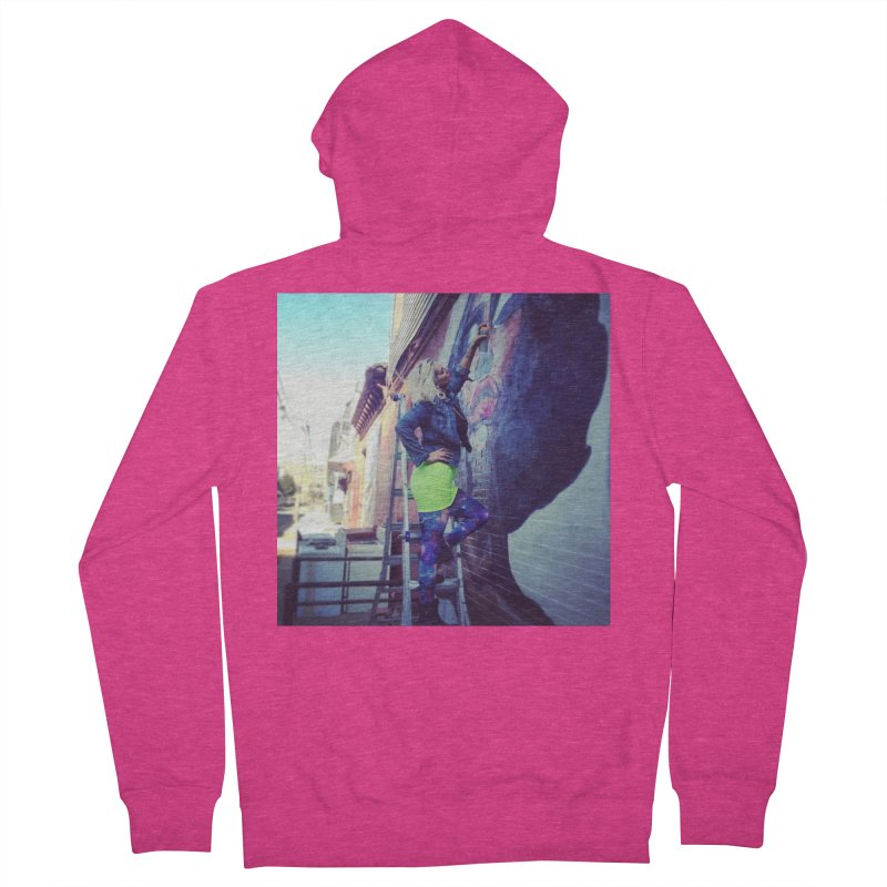 Lexi Bella on Dodworth Women's French Terry Zip-Up Hoody by lexibella's Artist Shop
