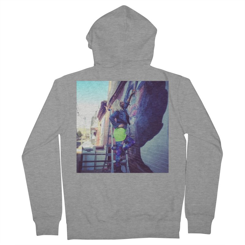 Lexi Bella on Dodworth Men's French Terry Zip-Up Hoody by lexibella's Artist Shop