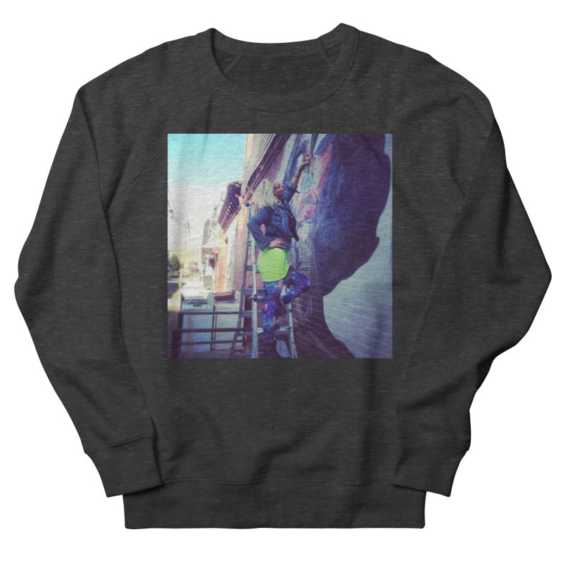 Lexi Bella on Dodworth in Women's French Terry Sweatshirt Smoke by lexibella's Artist Shop