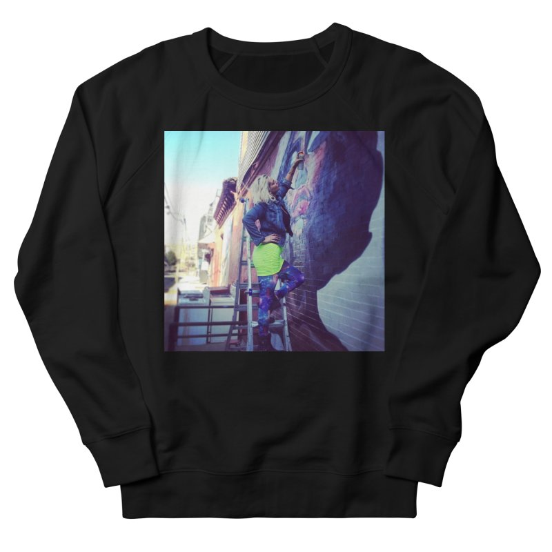Lexi Bella on Dodworth Men's French Terry Sweatshirt by lexibella's Artist Shop