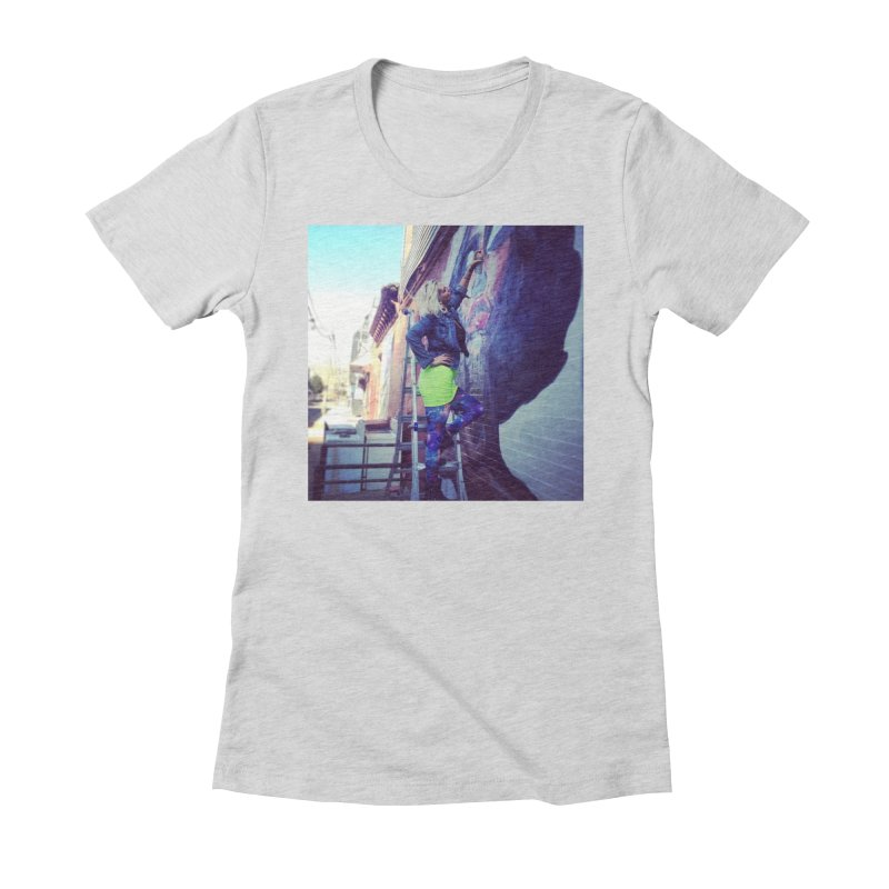 Lexi Bella on Dodworth Women's Fitted T-Shirt by lexibella's Artist Shop